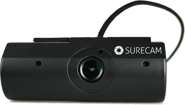 Surecam's connected fleet dash cam