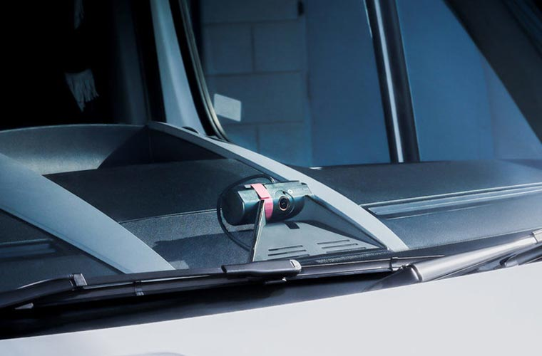 Forward-Facing Camera Solutions to Protect Drivers and